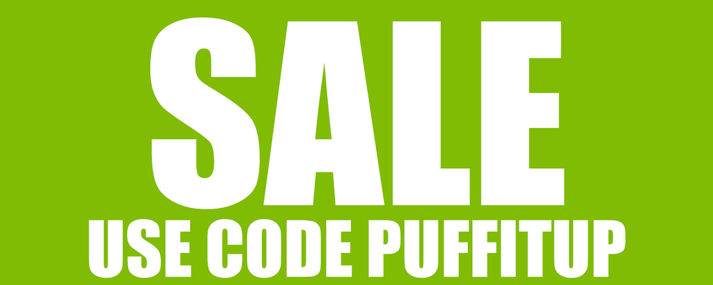 Sale Use Code PUFFITUP