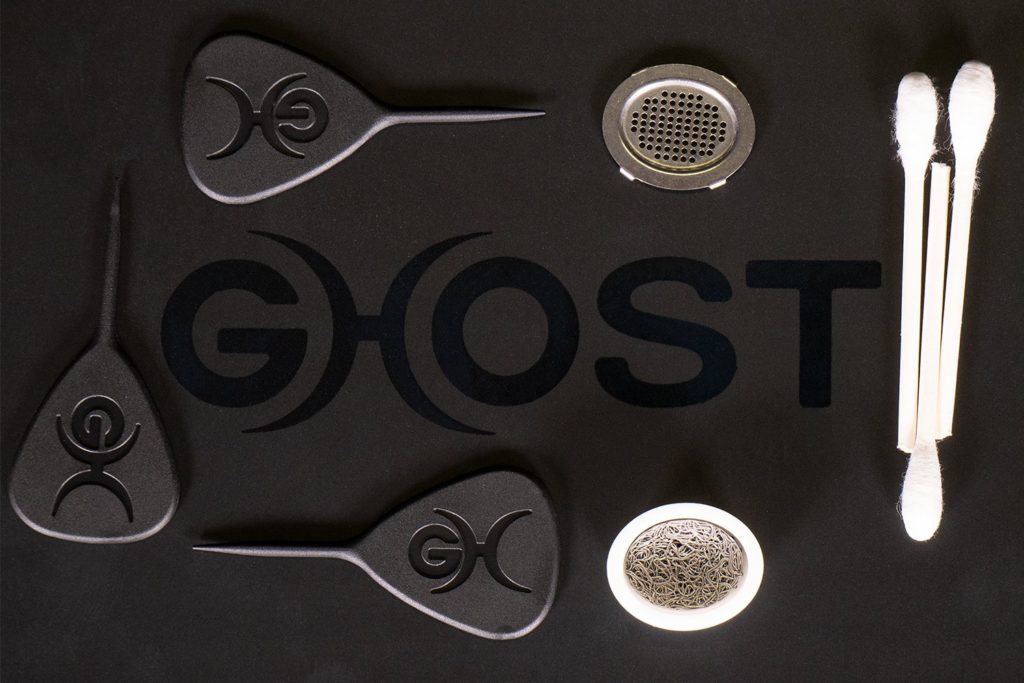 ghost mv1 accessories on box