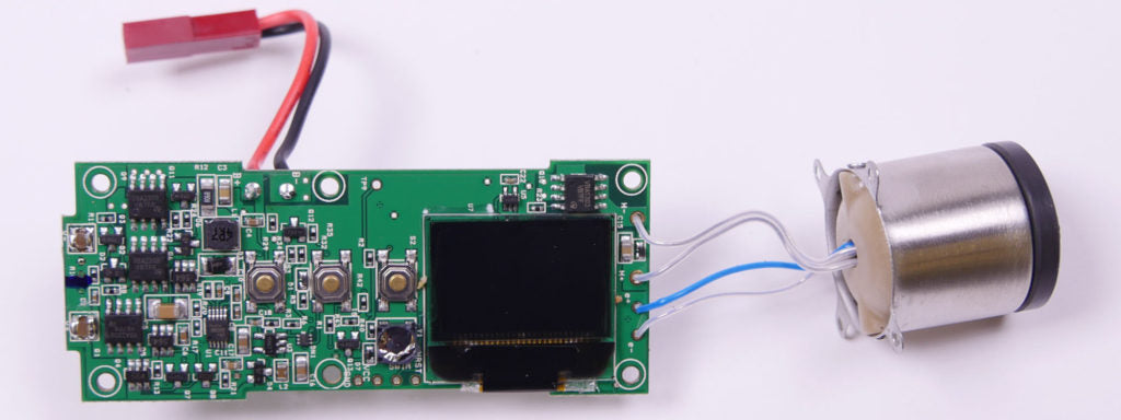 arizer solo 2 digital display circuitry