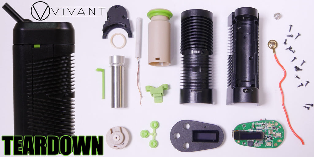 vivant alternate portable vaporizer teardown 1