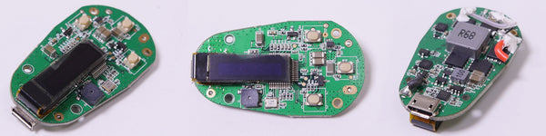 vivant alternate portable vaporizer teardown circuit display board 6