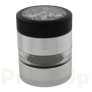 "Kannastor - 2.2"" 4pc Clear Top Grinder/Jar Grinders Kannastor"