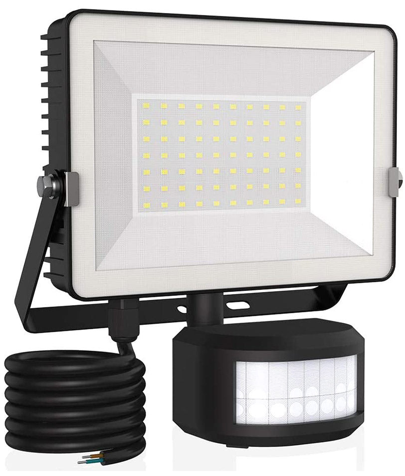 50W Graphene Motion Sensor LED Flood Light