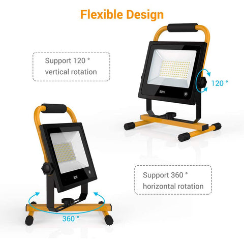 60W Touch Sensor LED Work Light