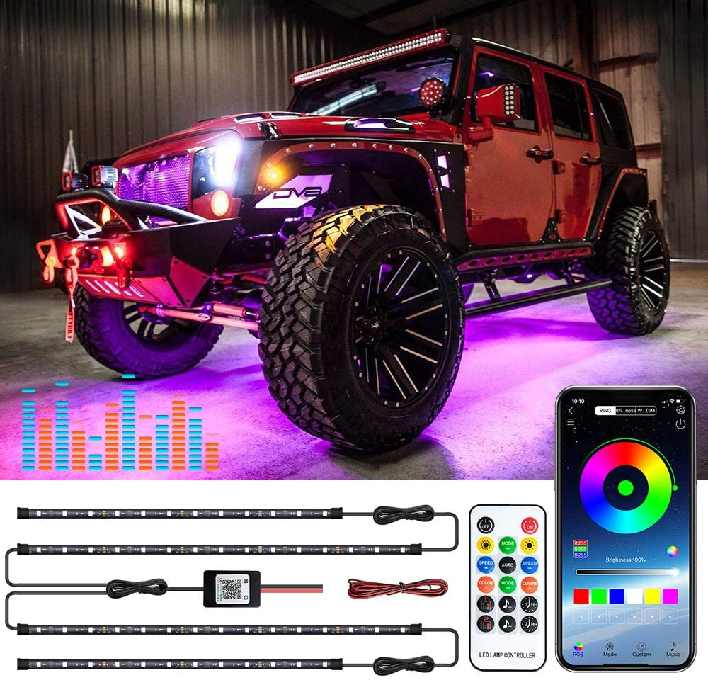 Car Underglow Dream Color Strip Lights