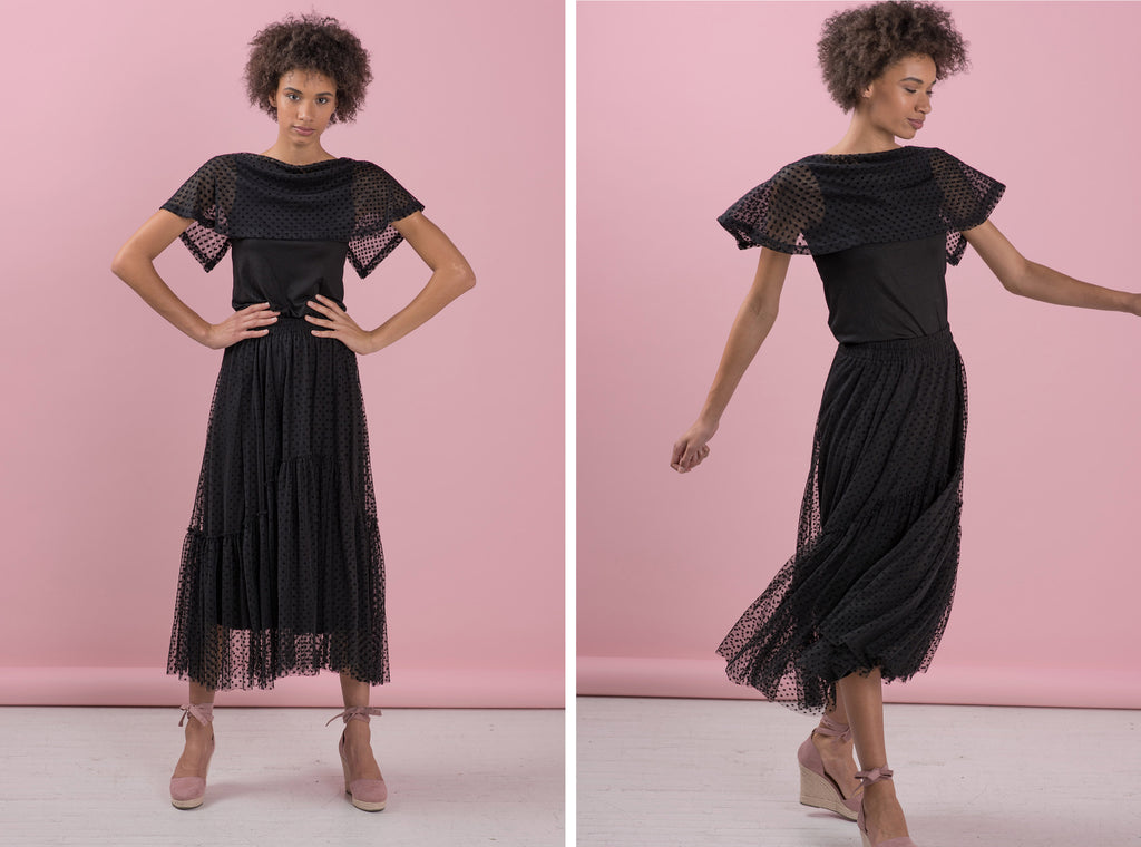 Black Reinvented for Summer | Ruti Blog