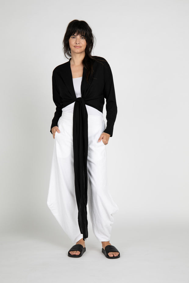 Abbot Linen Wide Leg Pants