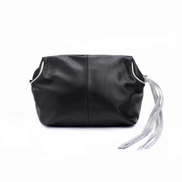 Black and Silver Bianca Crossbody