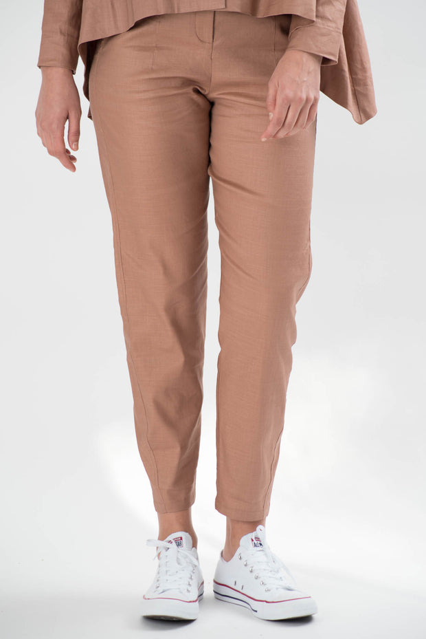 Sadie Linen Straight Pants