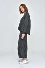 Heathered Skylar Wide Leg Pants