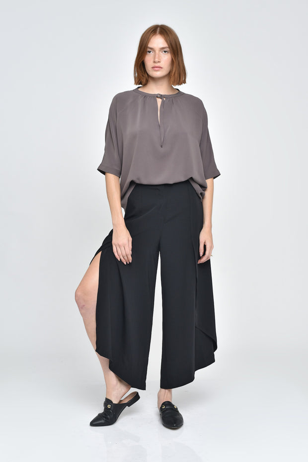 Dark Sage Alani 3/4 Sleeve Top