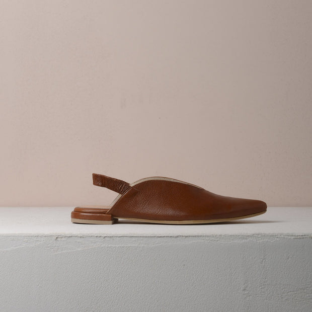 Brown Billie Flats