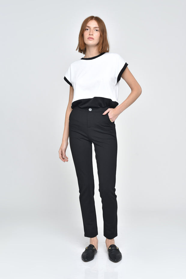 Elsie Color Block Top