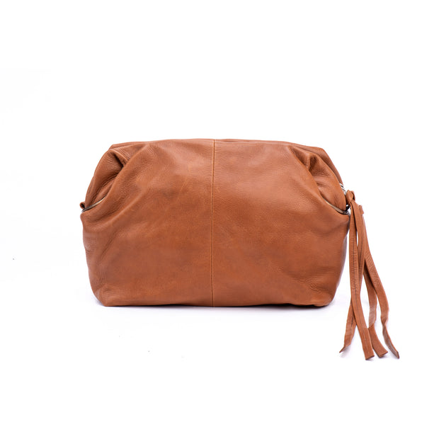 Camel and Bronze Bianca Crossbody