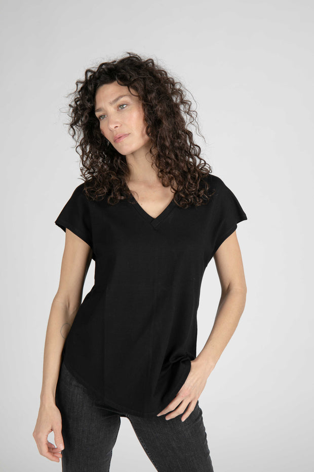 The Tuck-In V-Neck Tee