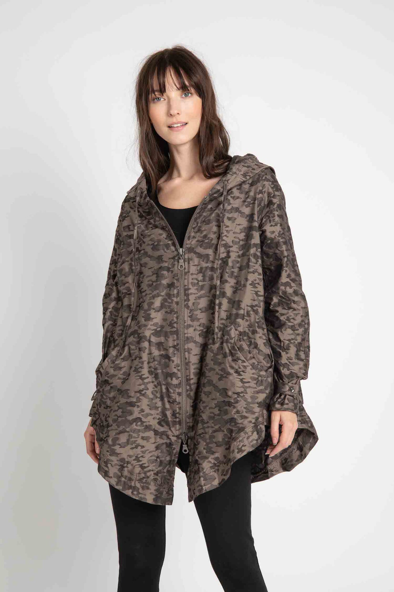 Camo Queen Oversized Jacket
