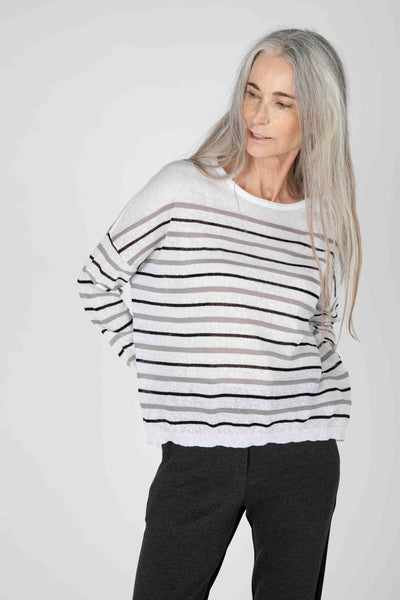 Cape Cod Striped Sweater