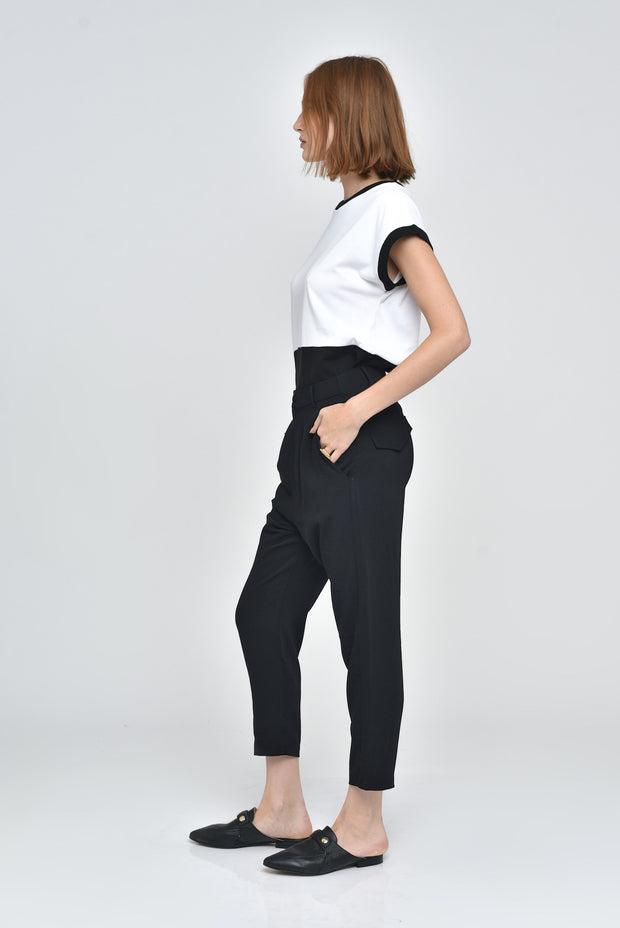 Crepe Light Pants