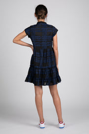 Navy and Black Aston Short Dress | Ruti