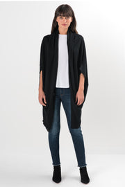 Black Knit Sibley Oversized Cardigan