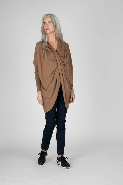 Hampton Twist Front Sweater