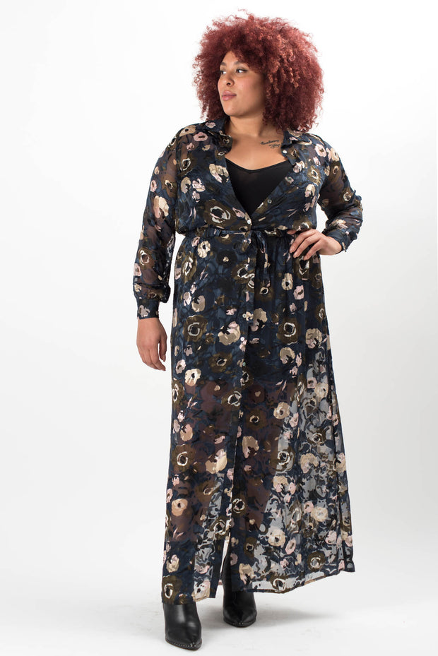 Alyssa Chiffon Maxi Dress