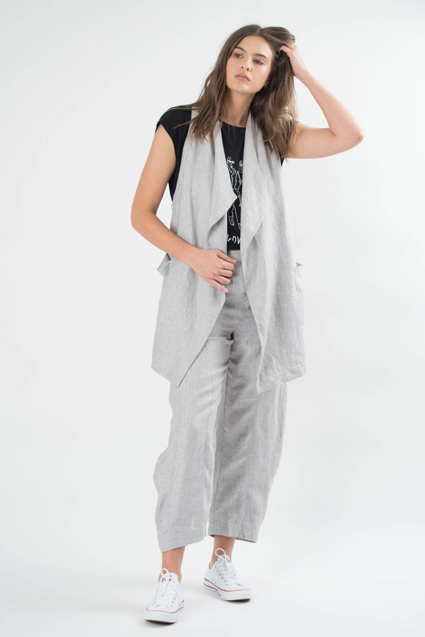 Desmond Linen Wide Pants