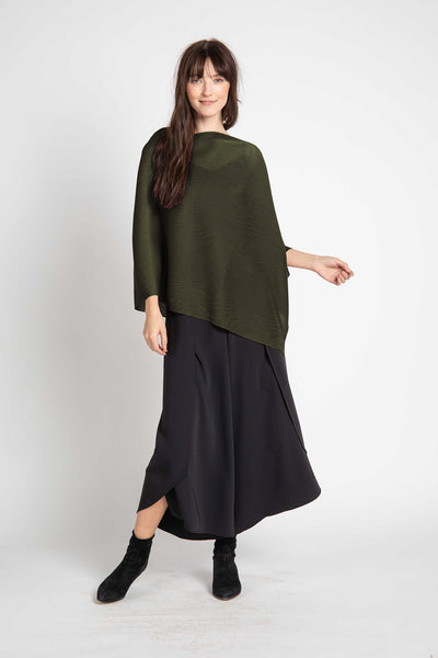 Olive Noelle Pleated Shawl