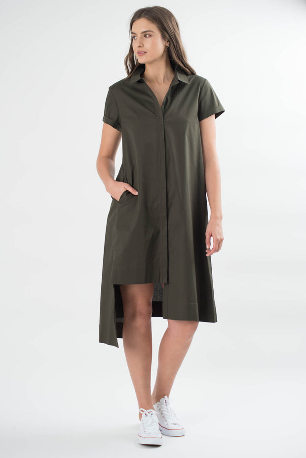 Talia Asymmetric Dress
