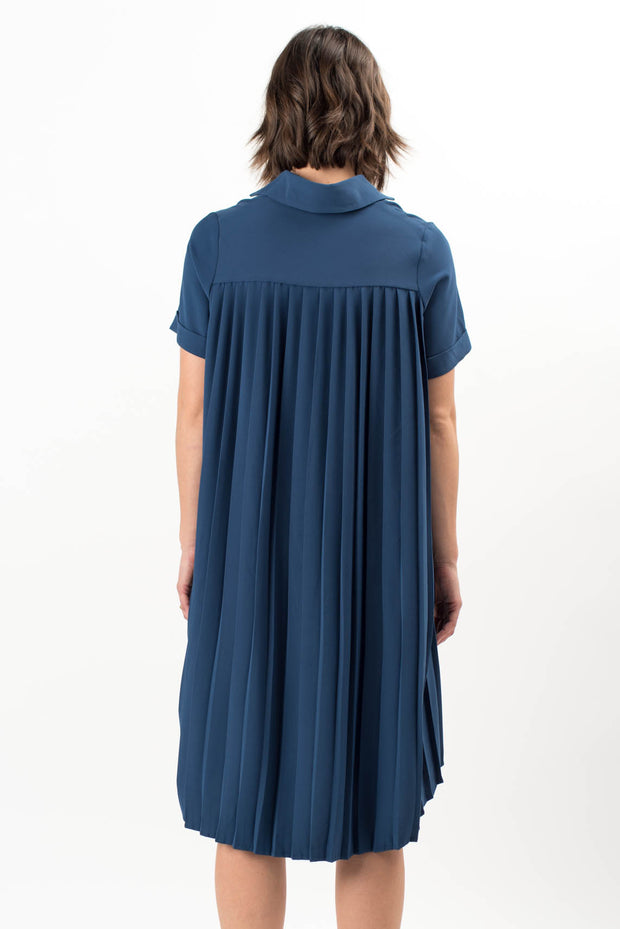 Courtney Pleated Back Dress