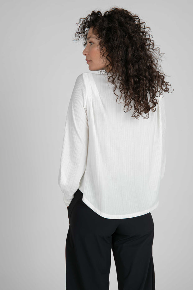 London V-Neck Top