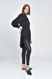 Kalindi Tiered Long Sleeve Tunic