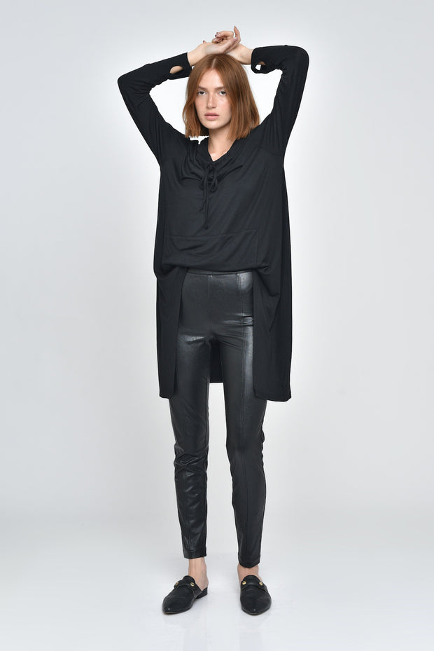 Faux Leather Felix Pants