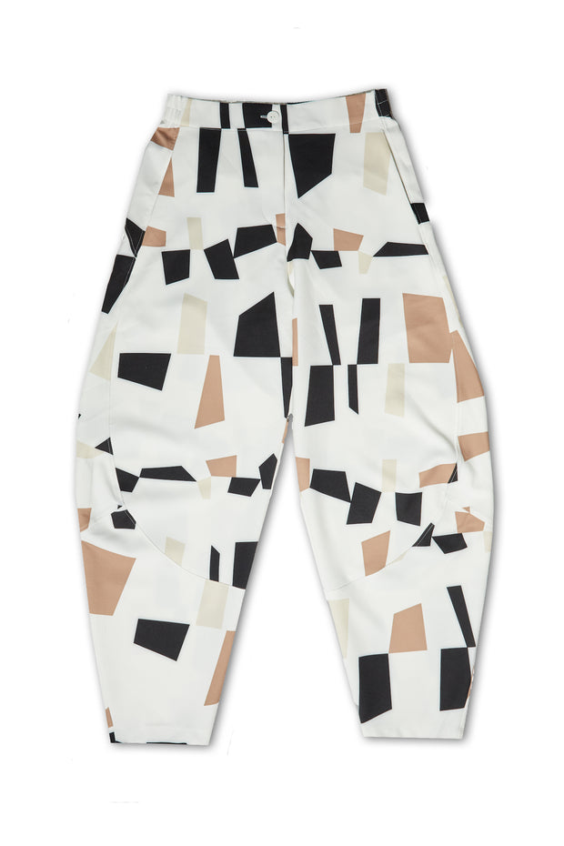 Narrow Quartz Printed Pants