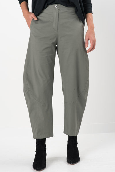 Quartz Twill Wide Leg Pants