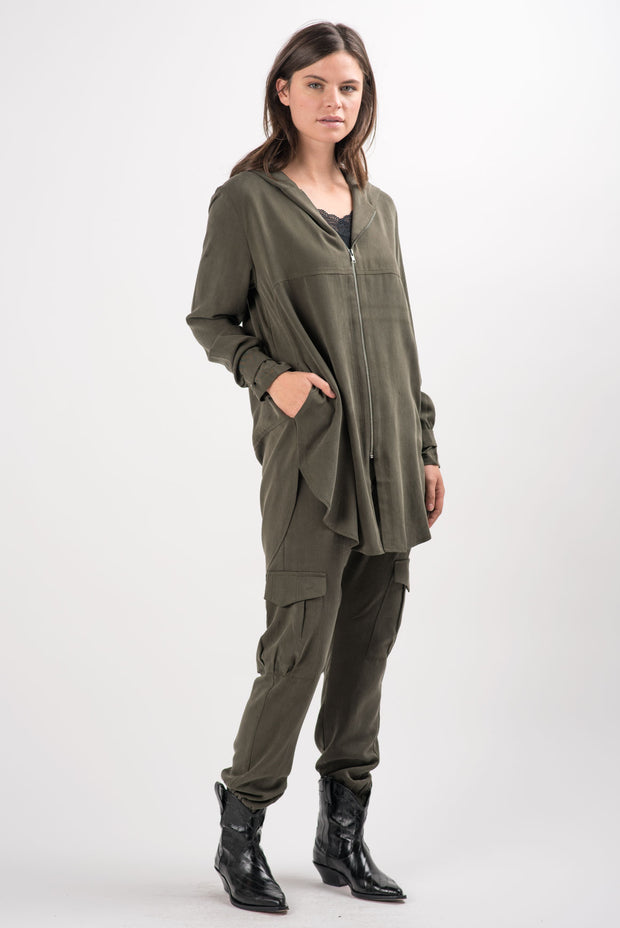 Olive Cohen Hooded Jacket | Ruti