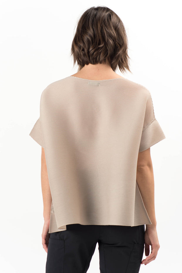 Sable Pleated Top