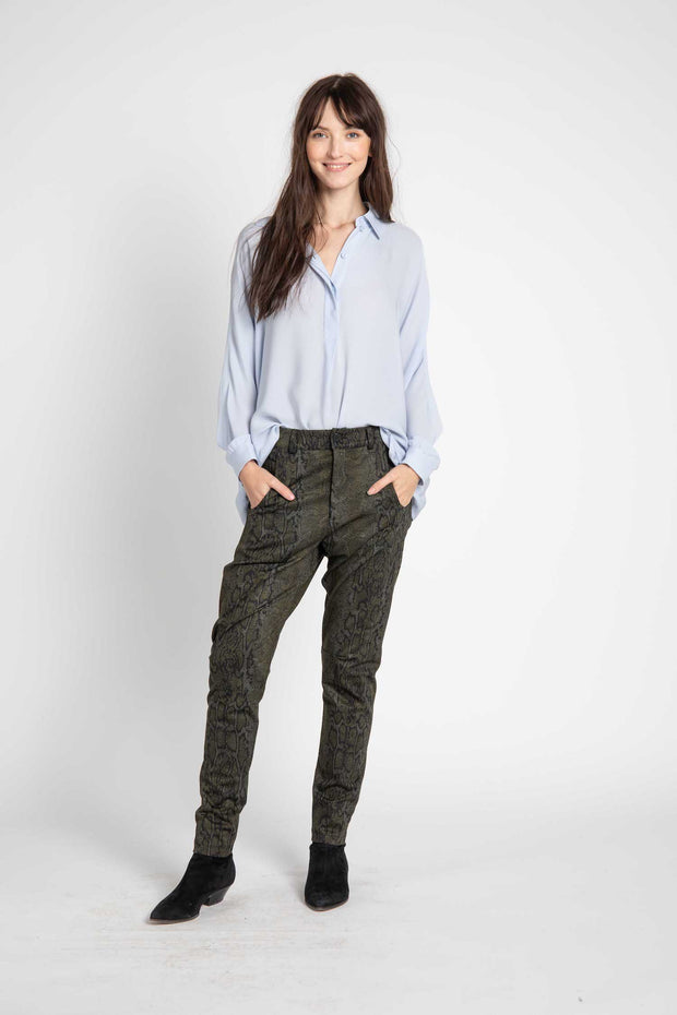 Snake Print Hunter Pants