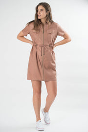 Angelo Linen Cargo Dress