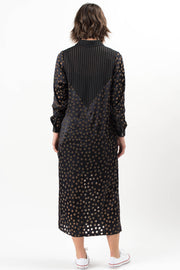 Monet Long Sleeve Dress