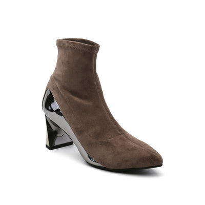 Sand Molten Flow Ankle Boot Mid