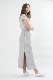 Constance Pleated Maxi Dress