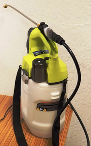2 Gallon Cordless Disinfectant Sprayer with Battery and charger