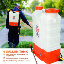 Load image into Gallery viewer, 4 Gallon Cordless Disinfectant Sprayer