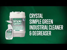 Load and play video in Gallery viewer, Crystal Simple Green Cleaner - Degreaser - 1 Gallon Bottle