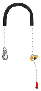 Longe réglable GRILLON HOOK version internationale PETZL - V-PIC.COM