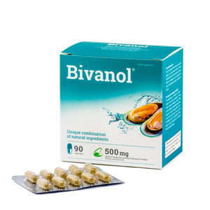 Bivanol®: New Zealand Green Lipped Mussel Omega-3 - IEG Store