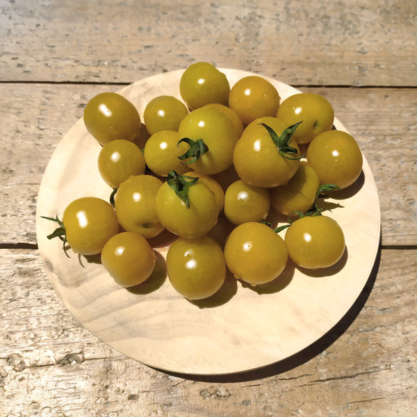 Tomate Cherry Amarelo Ecolóxico 500grs