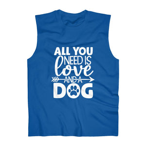 All You Need Is Love And A Dog Muscle Tank