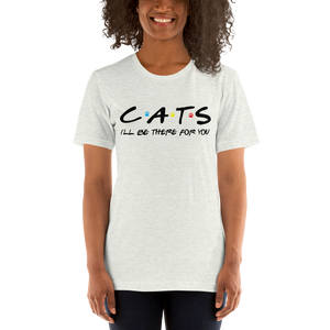 Friends - I'll Be There For You (Cat Lovers) Basic Tee